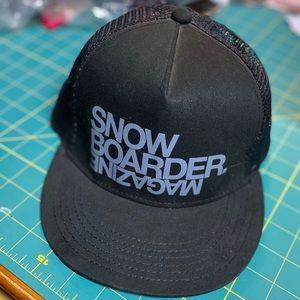Neff Snow Boarding Magazine Trucker Hat